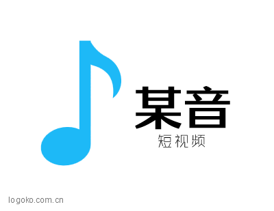 某音logo设计