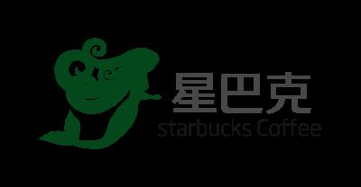 星巴克logo商标设计