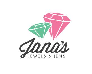 珠宝店的标志设计欣赏.