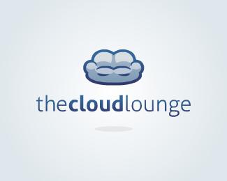 国外云酒吧logo标志设计.